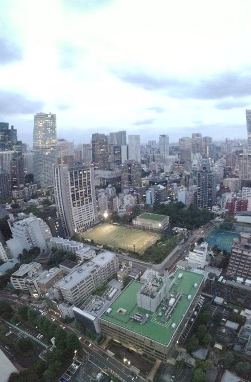 Tokio modest...