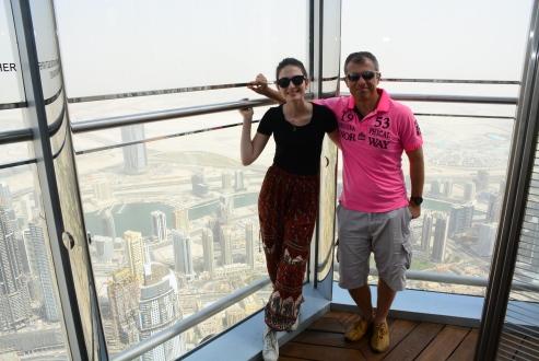 Să fii pus la colț, Dubai style