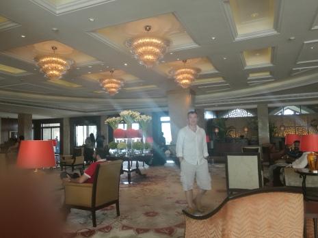 New Taj lobby